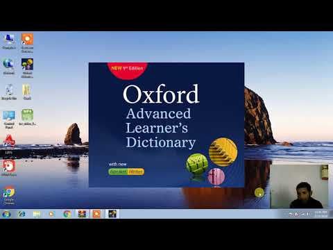 How To Download Oxford Advance Learner Dictionary 9th Eddition