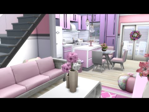 THE SIMS 4: SPEED BUILD // VALENTINES DAY LOFT // NO CC thumbnail
