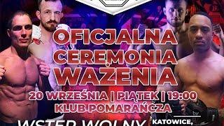 Wazenie Silesian MMA Challenge 2