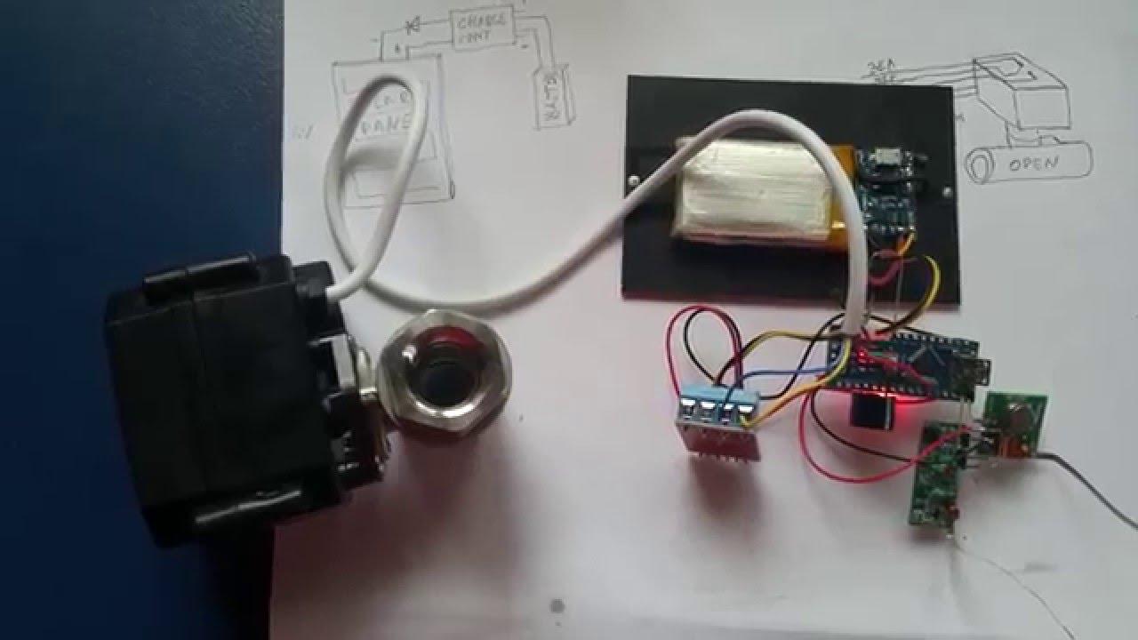 arduino controlled 1/2'' ballvalve