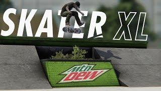 Skater XL - THE HUGE DEW TOUR GAP | Insane Flip Tricks (1800 Quad Heelflip)