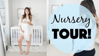 Shared_Room_NURSERY_TOUR!_Grey_and_White_Theme