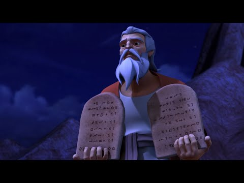 Superbook - The Ten Commandments - Season 1 Episode 5 - Full Episode (Official HD Version)