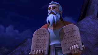 Superbook - Episode 5 - The Ten Commandments - Full Episode (Official HD Version)