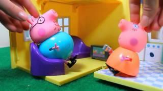 ПАПА СВИН РЕШИЛ ПОХУДЕТЬ Свинка Пеппа  Мультики Peppa Pig