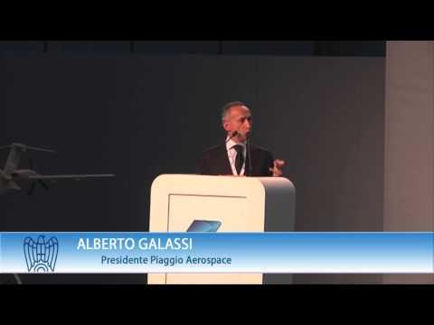 Inaugurazione Piaggio Aerospace, il Presidente Galassi
