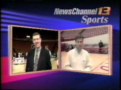 March 4, 1993 - Indianapolis Sportscast Live from Market Square Arena