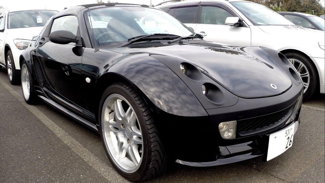 2004 brabus smart roadster 39k rhd japan car auctions. Black Bedroom Furniture Sets. Home Design Ideas