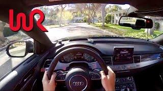2017 Audi S8 WR TV POV City Drive