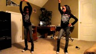 "Twins dancing to ""Till the End of Time"" by Beyonce"