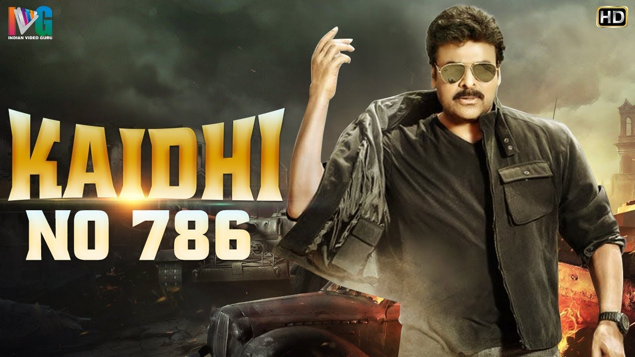 Chiranjeevi Kaidhi No 786 Hindi Dubbed Action Movie HD   Madhavi   Sumalatha   Indian Video Guru