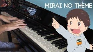 Gambar cover Mirai no Mirai Opening Theme | Tatsuro Yamashita -  Mirai no Theme Piano Cover