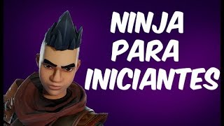 BUILD NINJA FOR BEGINNERS-NO HEROES OF PAST EVENTS-FORTNITE SAVE THE WORLD