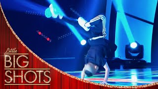 Dance Off With B-boy Champion Kevin! | Little Big Shots