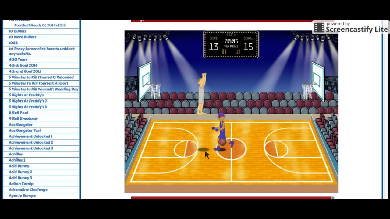 1 on 1 Basketball - Unblocked Games 77 76 66 99 The Best Games