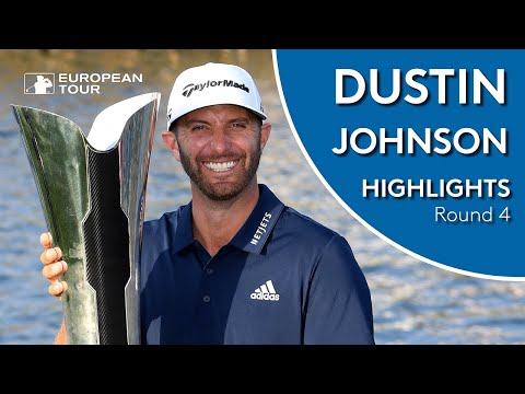 Dustin Johnson Winning Highlights | 2019 Saudi International