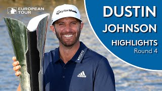Dustin Johnson Winning Highlights | 2019 Saudi International