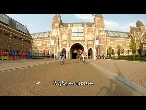 Amsterdam city center bicycle tour  - summer 2014