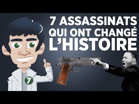7 assassinats qui ont changé lhistoire