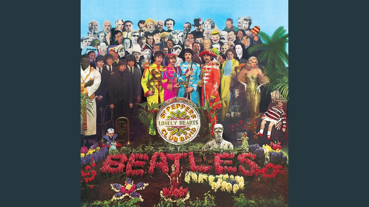 Обои The beatles, sgt. peppers lonely hearts club band, yellow submarine. Музыка foto 11