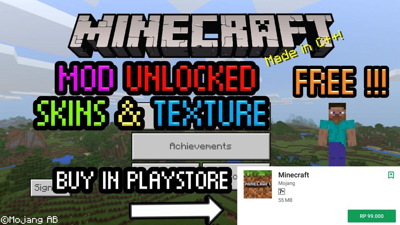 Minecraft Poket Edition Mod No Root 77 Youtube