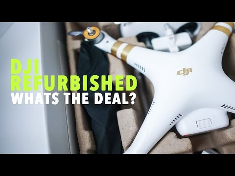 DJI Refurbished Products? WHATS THE DEAL?