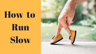 Maffetone Method Training: How To Run Slow