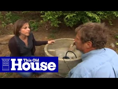 how to install a garden fountain this old house youtube - Garden Fountains