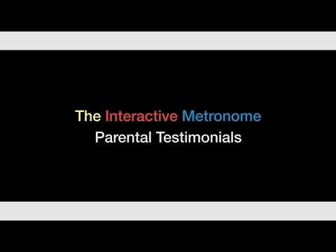 The Interactive Metronome: Parents Of Children With Autism Testimonials