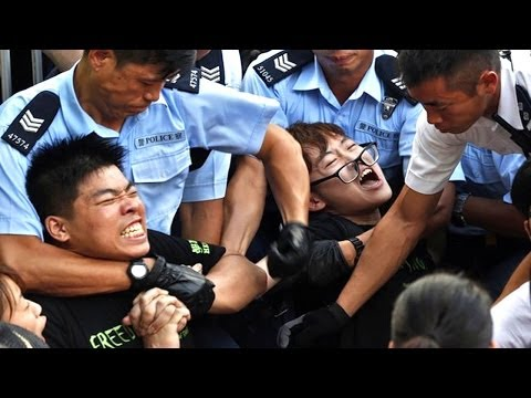 """Hong Kong's """"Occupy"""" Movement For Democracy"""