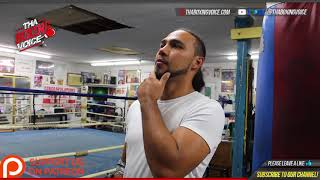 Keith Thurman on Errol Spence Jr., Terence Crawford, & Jeff Horn-Who