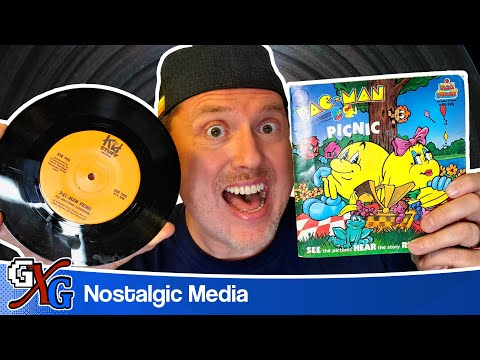 PacMan Picnic - 1980 Kid Stuff Book & Record | Full Story!