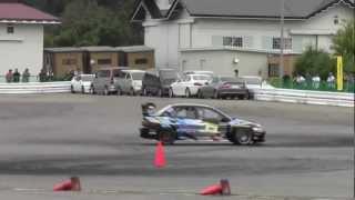 2012.10.14 全日本ジムカーナ第9戦 inIOX-AROSA SC牧野タイソン 2本目...