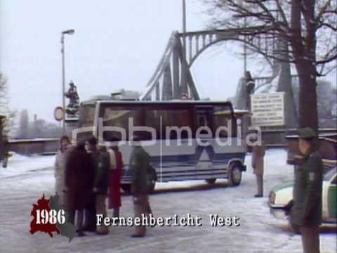 The Bridge of Spies, Berlin Glienicke - February 11, 1986