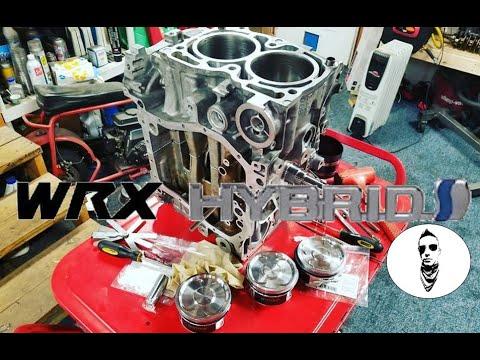 Building a WRX Hybrid engine / EJ25 with EJ20 heads