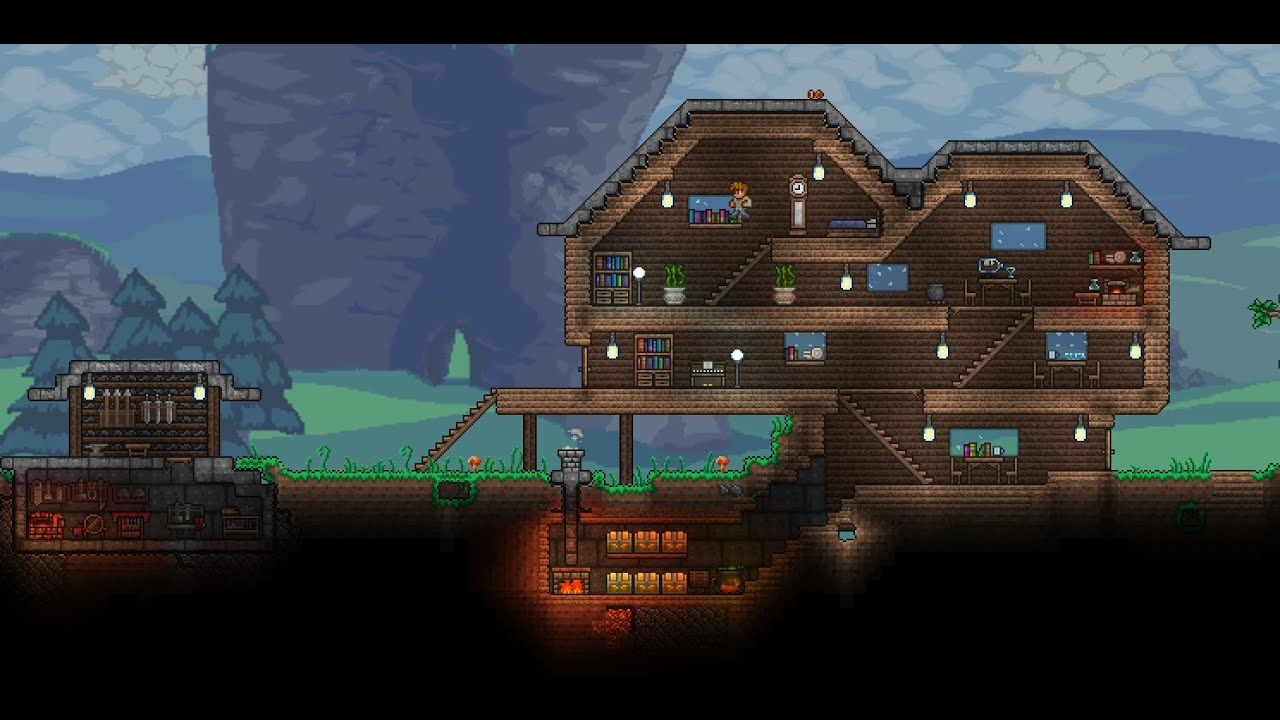 terraria how to make a valid house