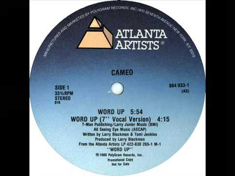 Cameo  Word Up  12 Version