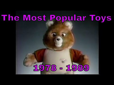 The 12 Most Popular Toys from the 1980s