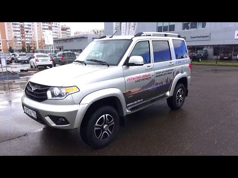 2015 УАЗ Патриот Limited. Обзор (интерьер, экстерьер, двигатель).