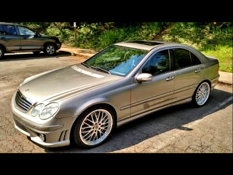 w203 mercedes benz tuning youtube. Black Bedroom Furniture Sets. Home Design Ideas