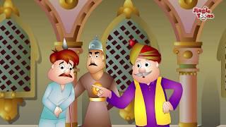 नाई की मूर्खता | Naai ki Murkhta | Hindi moral (hitopadesha) animation story By JingleToons