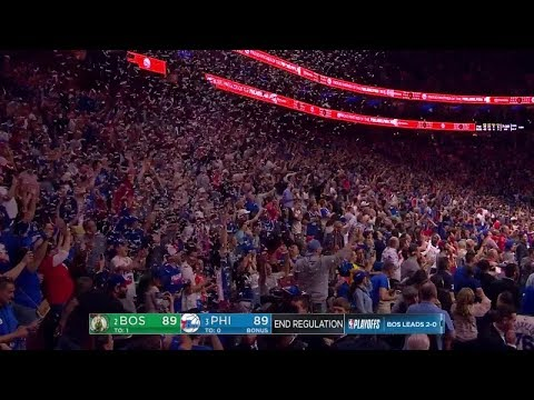 Sixers Accidentally Drop Confetti Before Game's Over Then Lose Game 3