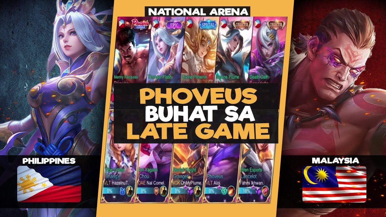 PHOVEUS BUHAT POWER SA LATE GAME