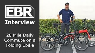 Commuting 28 Miles a Day on a Folding Ebike - Customer Intervi…