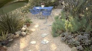 How To Make A Garden With Pebble Ground Cover : Gardening Advice