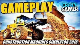 Conhecendo o Jogo - Construction Machines Simulator 2016