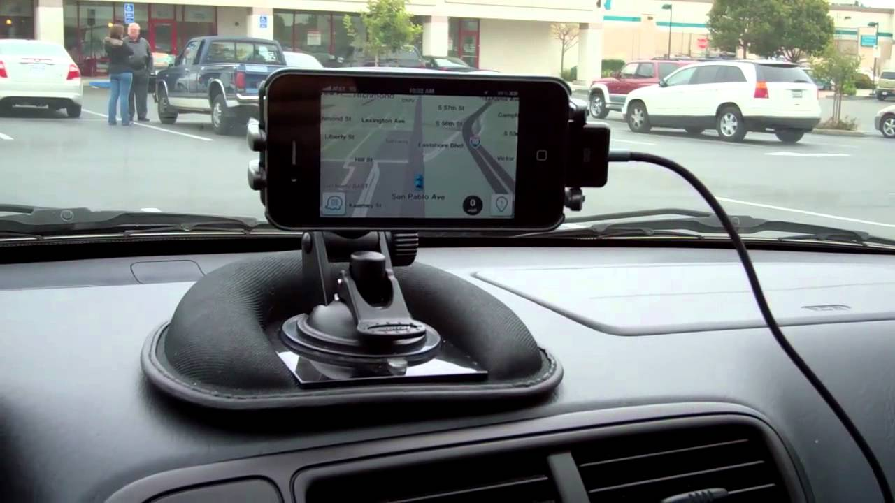 Reviewed iPhone  Smartphone Dashboard Friction Mount