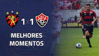 Sport 1 x 1 Vitória | Gols e Melhores Momentos | 2ª rodada | Copa do Nordeste 2020
