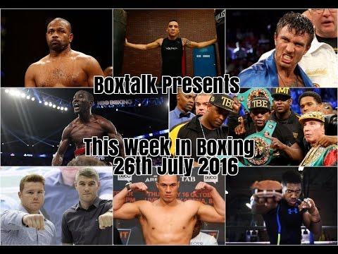 This week in Boxing: Crawford. Roy Jones Jr. Mayweather. Canelo. Oscar Valdez. Amir Khan & more