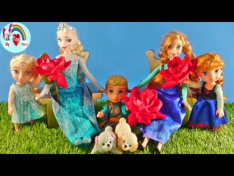 mother's-day-!-elsa-and-anna-toddlers---dinner-and-popcorn-mess---oh-no!-bees---ratatouille---gifts